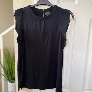 Worthington Black Blouse Size Large